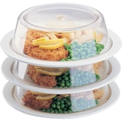 """Picture of Plastic Plate Covers 8.5"""" dia"""
