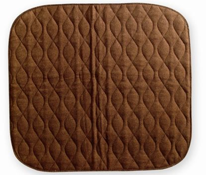 Picture of Velour Chairpad 40 x 50 - Brown