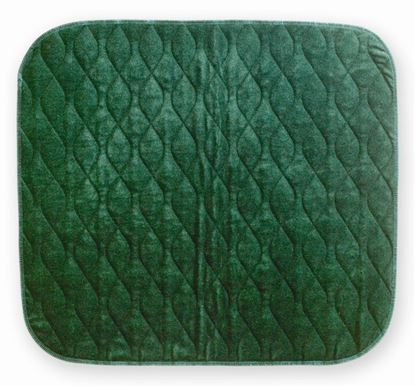 Picture of Velour Chairpad 40 x 50 - Green