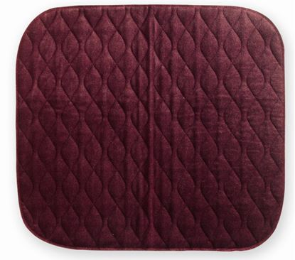 Picture of Velour Chairpad 40 x 50 - Maroon