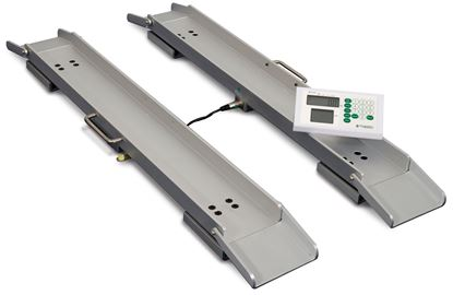 Picture of MARSDEN M-610 Portable Wheelchair Weigh Beams with BMI