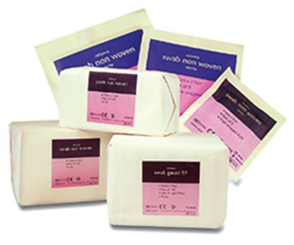 Picture of 6 ply NonWoven Swabs (10 x 10cm)
