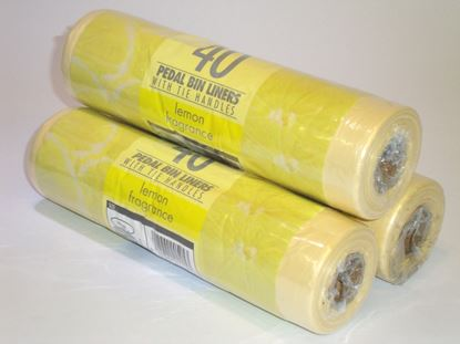 Picture of Fragrenced Pedal Bin Liners - mixed (40)
