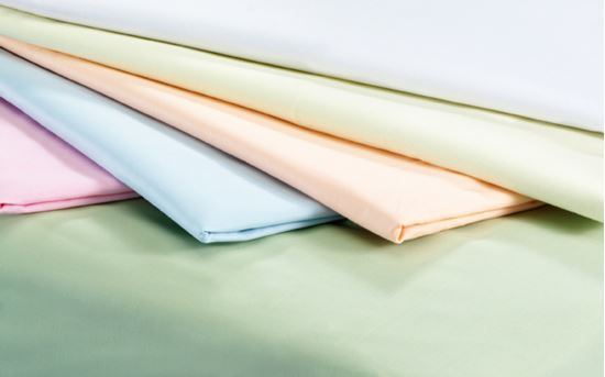 Picture of Polycotton Duvet Cover - Peach