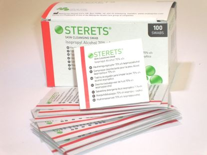 Picture of Pre - injection Swabs (100)