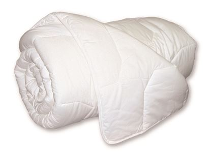 Picture of Fire Retardant Machine Washable Quilted 10.5 tog Duvet - Single