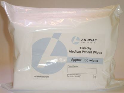 Picture of Caredry Medium Wipe 30 X 25 cm (100)