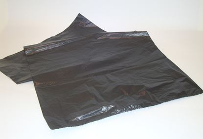Picture of Heavy Duty Black Sacks 18 x 29 x 39 (200)