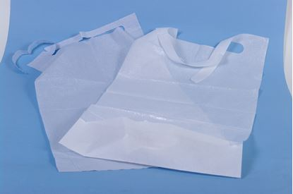 Picture of Disposable Bib With Pouch 37 x 66 cm (125)