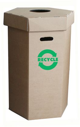 Picture of Waste Recycling Bin - 100Ltr - Flat Pack