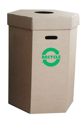 Picture of Waste Recycling Bin - 120Ltr - Flat Pack