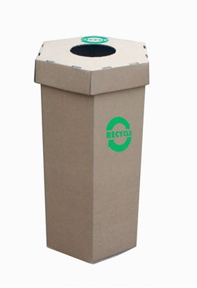 Picture of Waste Recycling Bin - 60Ltr - Flat Pack