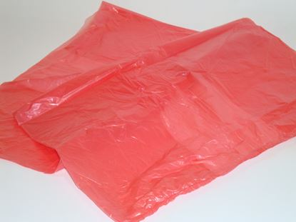 Picture of Soluble Strip Laundry Sack Red (200)