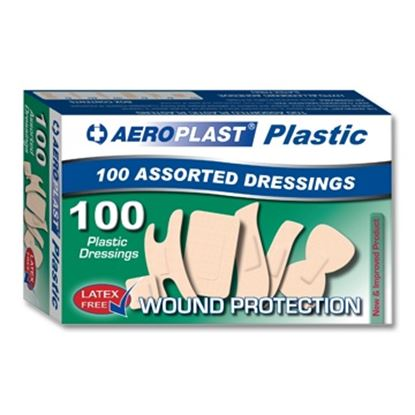 Picture of Assorted Washproof Plasters (100)