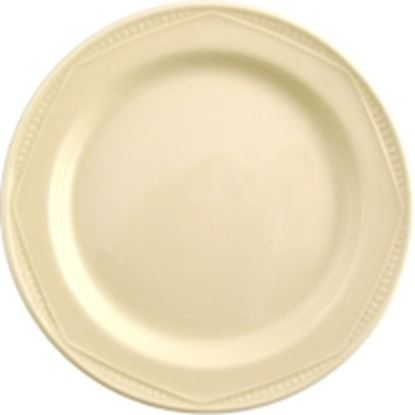 """Picture of Monte carlo ivory plate 8""""(24)"""