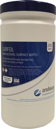 Picture of Surfol Alcohol Surface Wipes (200)