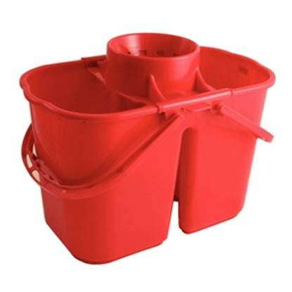Picture of CC twin mop buckets - Red