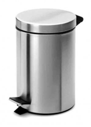 Picture of Steel Body Pedal Bin - 20L (SS finish)
