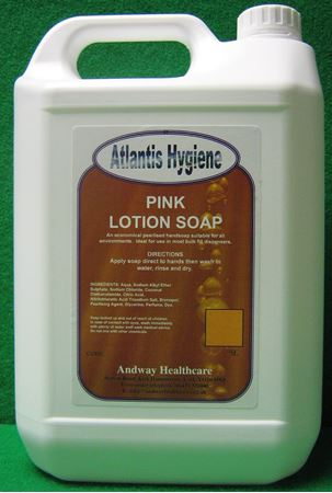 Picture for category Pink Lotion Soap Perfumed