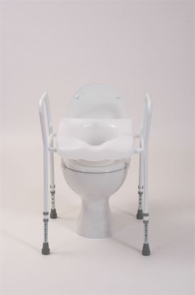 Picture of Toilet aid with clip on seat