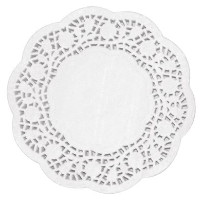Picture of Fiesta Paper Doily Round 12in Pk 250