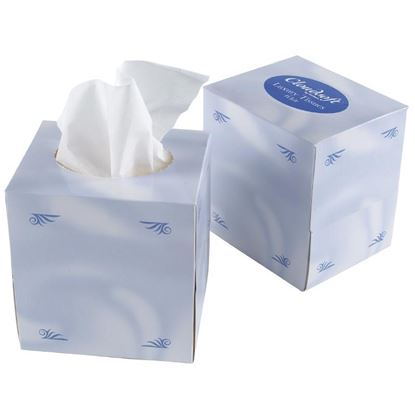 Picture of Cube Facial Tissues (24)