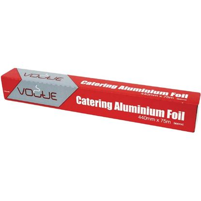 Picture of Vogue Aluminium Foil with cutterbox - 440mm x 75m