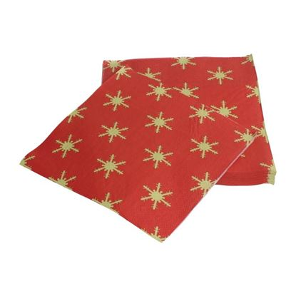 Picture of Fiesta Christmas Napkins 2ply 33cm