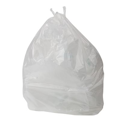 Picture of Jantex Swing Bin Liners White Pack 1000