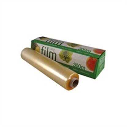 """Picture of 12"""" WIDTH Catering Cling Film (300mm x 300m)"""