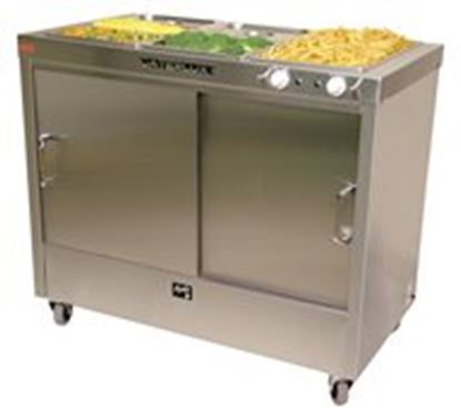 Picture of Apollo 3 Bain Marie Electric Hotcupboard with castors