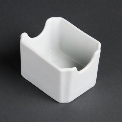 Picture of Olympia Whiteware Sachet Holders - Pack 6