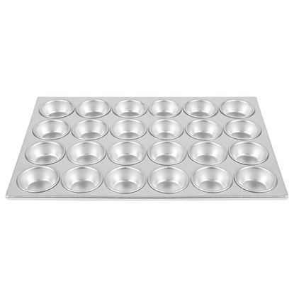 Picture of Vogue Aluminium 24 Cup Muffin Tray