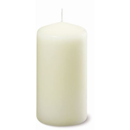"""Picture of 5"""" Tall Pillar Candle - Ivory"""