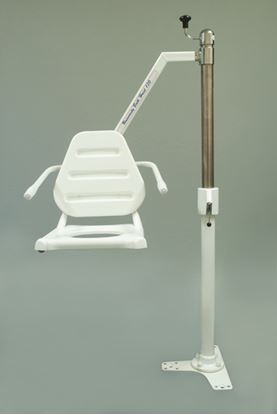 Picture of Andway Bath Hoist End arm for Conc floor (Manual) Commode