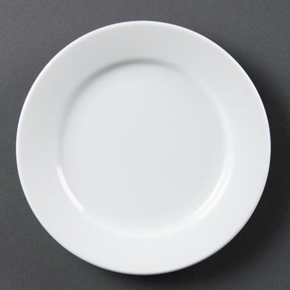 Picture of Olympia Wide Rimmed Plates 165mm - 6.5'' (12)