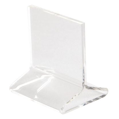 Picture of T-Shape Menu Holder Clear