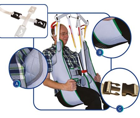 Picture for category Toileting Slings with Clips