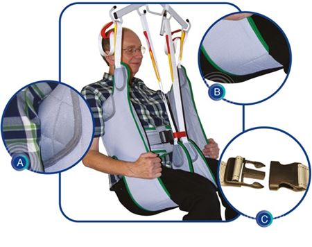 Picture for category Toileting Slings with Loops