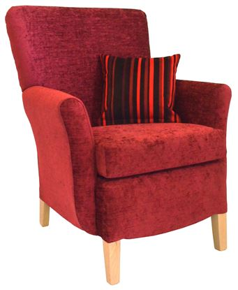 Picture of Cordoba Standard Back Chair X Range Fabrics
