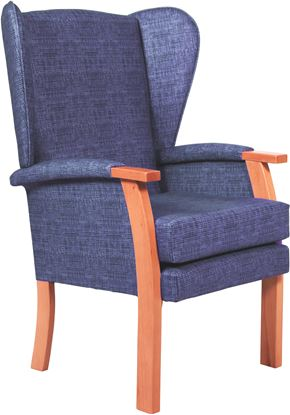 Picture of Bruges Wing Chair X Range Fabrics