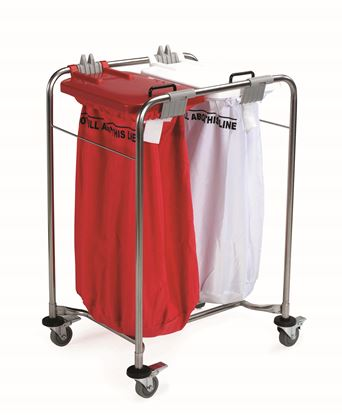 Picture of 2Bag Laundry Cart