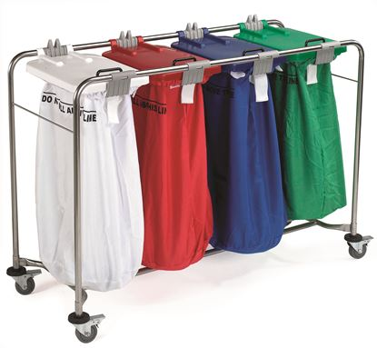 Picture of 4 Bag Laundry Cart