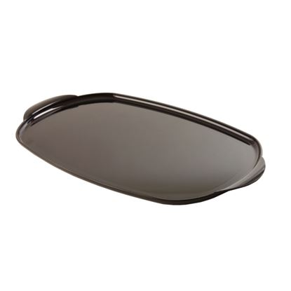 Picture of Black Oval Tray - Large