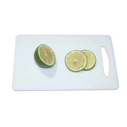 "Picture of Low Density Cutting Board - White (6"" x 10"")"