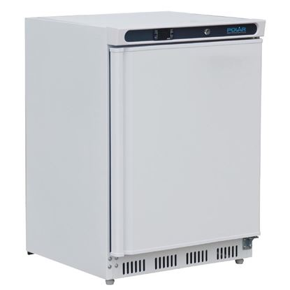 Picture of Polar Undercounter Fridge 150L - White