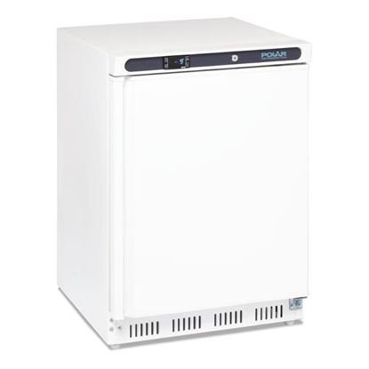 Picture of Polar Undercounter Freezer White 140ltr