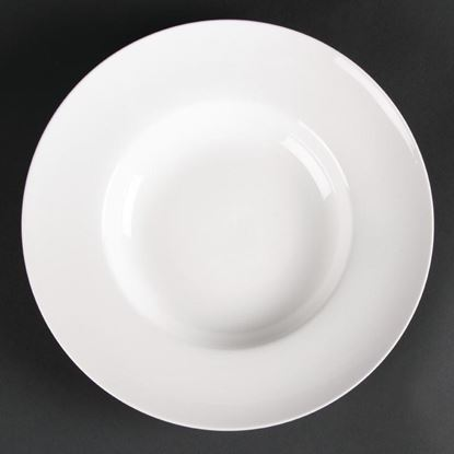 Picture of Lumina Fine China Pasta/Soup Bowls 254mm Medium