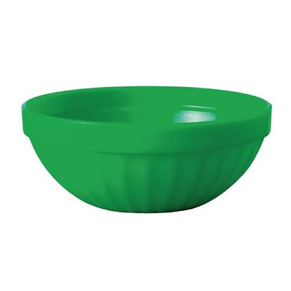 Picture of Polycarbonate Bowls Green 102mm Pk12