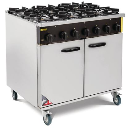Picture of Buffalo Gas Range 6 Burner
